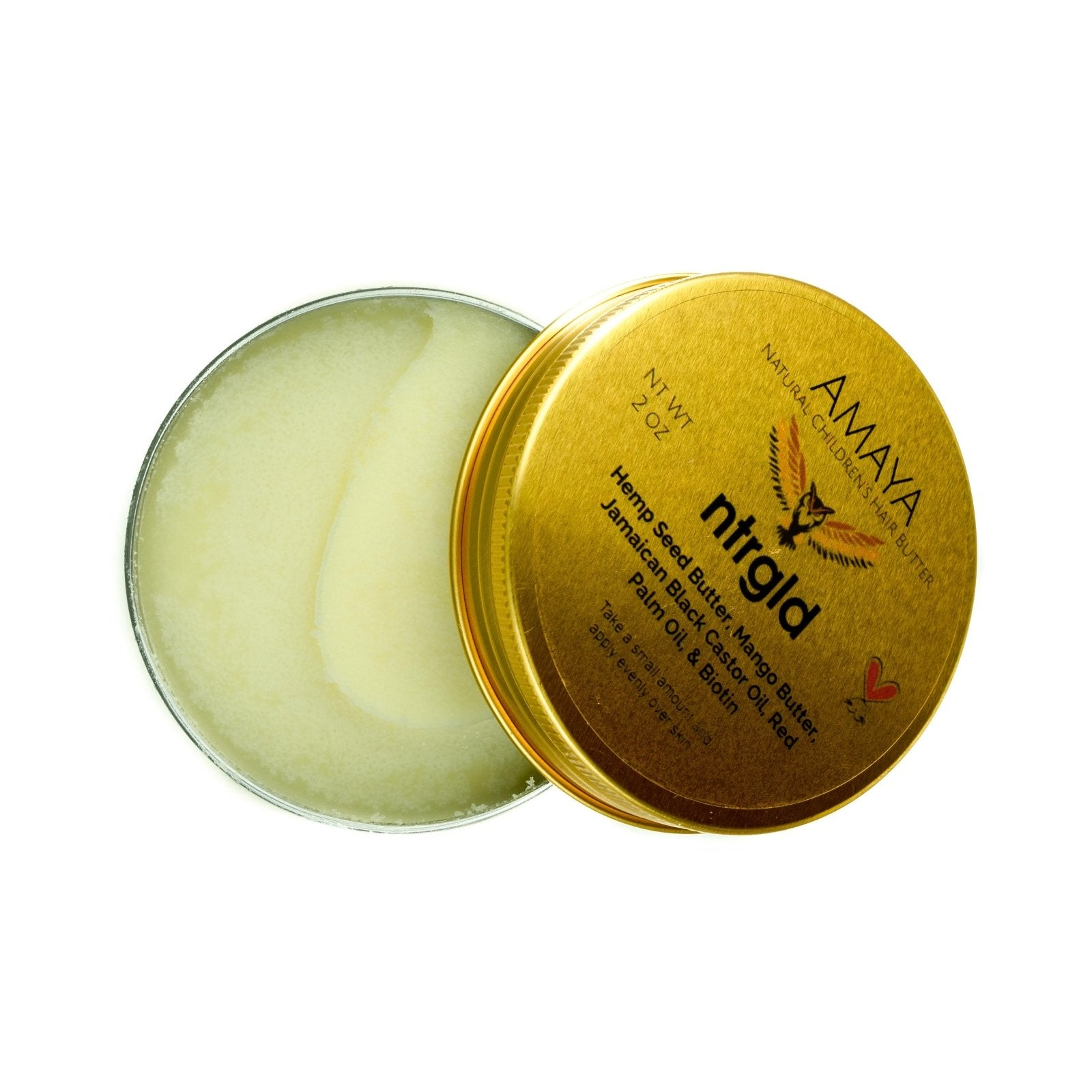 Amaya - Children's Hair Growth Butter - Neter Gold - NTRGLD - NETER GOLD - All natural body care products designed to increase your natural godly glow. - hair growth - eczema - dry skin