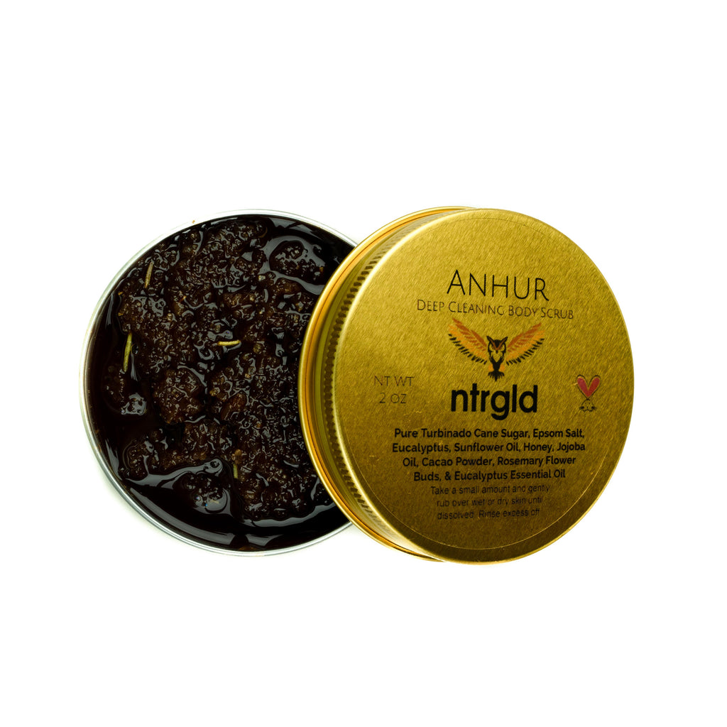 Anhur - Deep Cleaning Body Scrub - Neter Gold