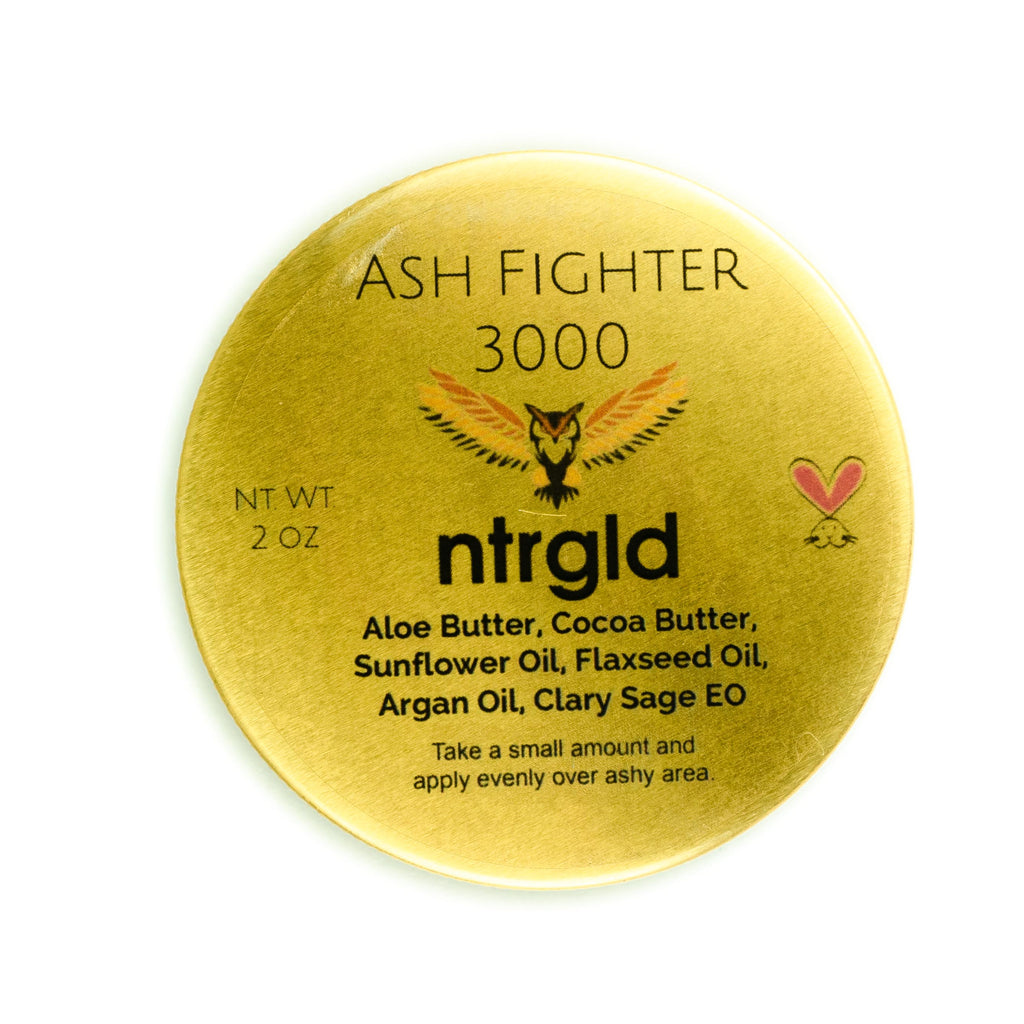 Ash Fighter 3000 - The Ultimate Gift For Your Ashy Friend - Neter Gold - NTRGLD
