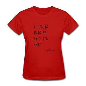 Ashy Readings - Women's T-Shirt - Neter Gold