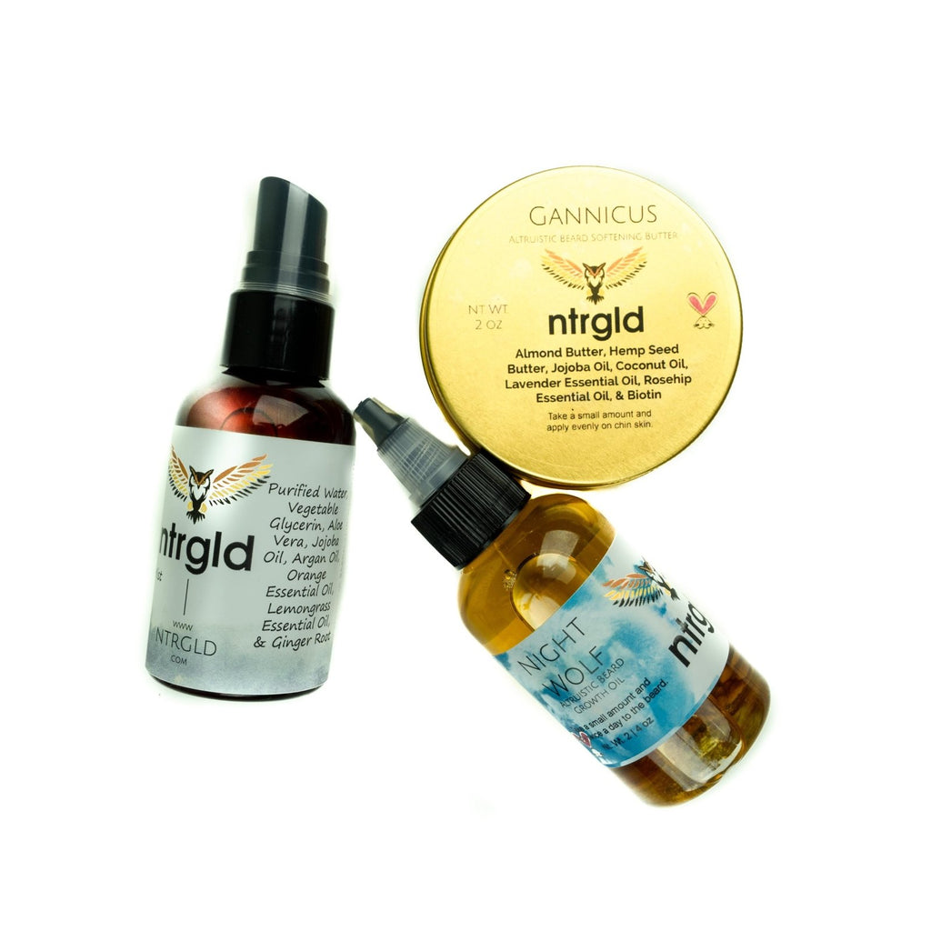 Beard Care Package - Neter Gold - NTRGLD