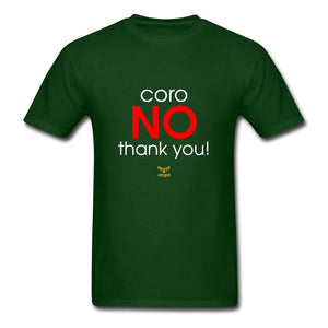 Men's T-Shirt ConoNO! - No Thank You! - T-Shirt - Neter Gold forest green / S