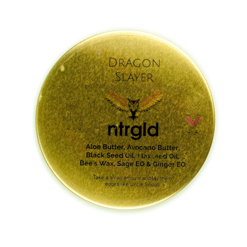 Dragon Slayer - Edge Control x Wave Master Pomade - Neter Gold