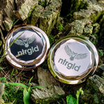 Dual Crystal Pocket Mirror - Neter Gold