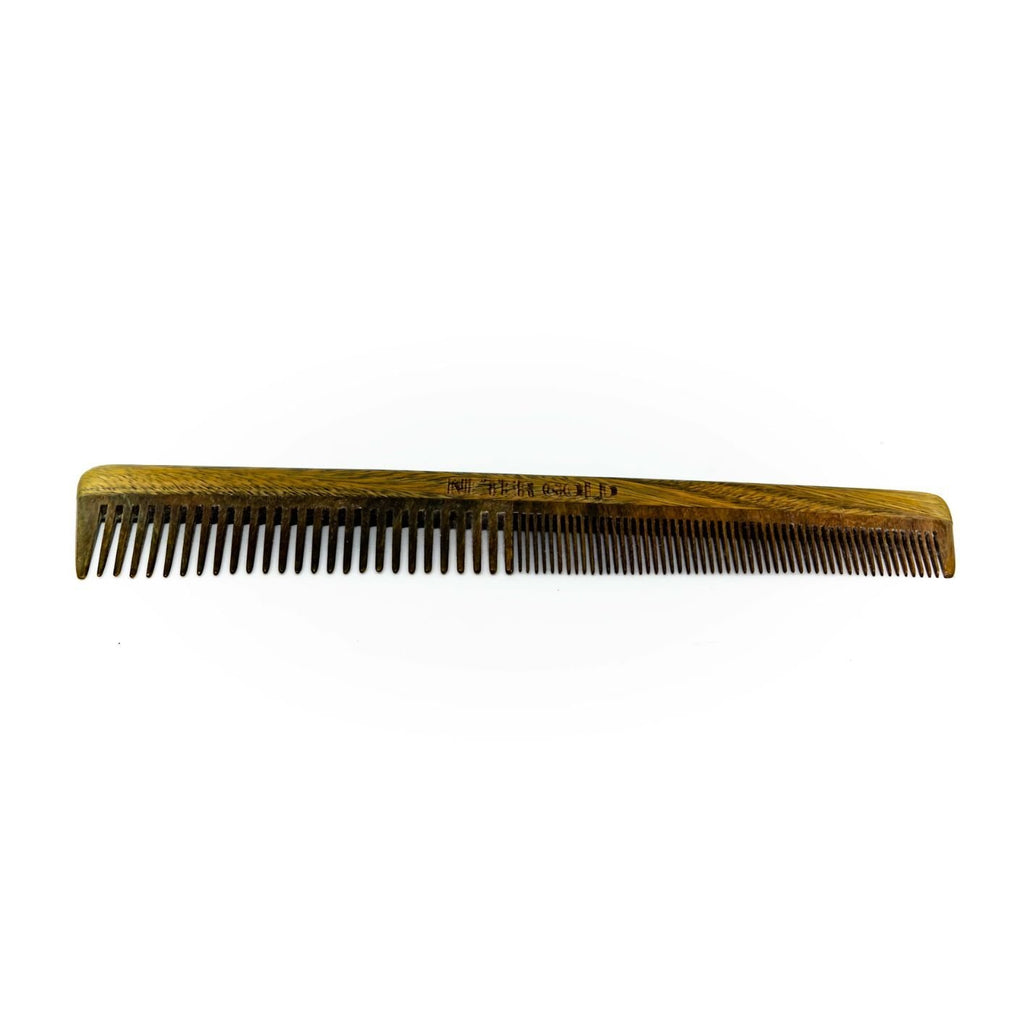 Dual Threat Wooden Combo Comb - Neter Gold - NTRGLD