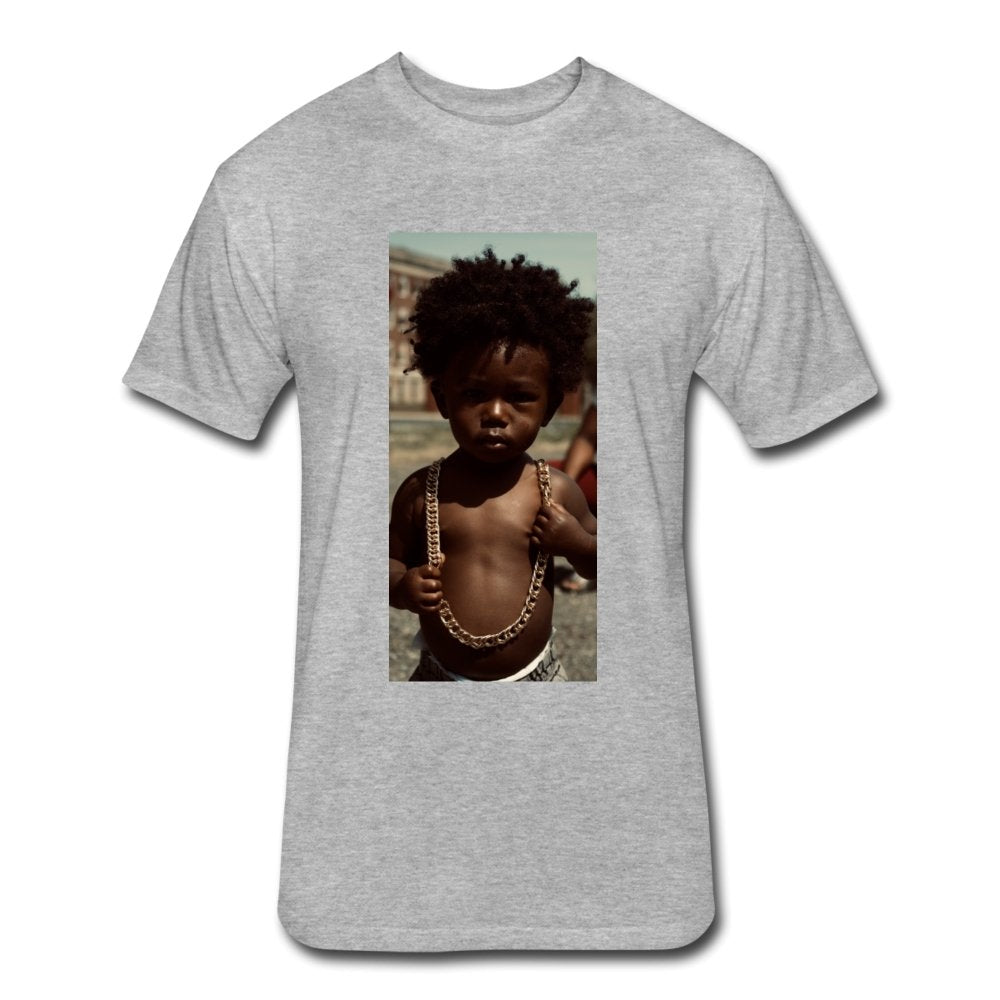 Lord Of The Drip - Fitted Cotton/Poly T-Shirt - Neter Gold - NTRGLD - NETER GOLD - All natural body care products designed to increase your natural godly glow. - hair growth - eczema - dry skin