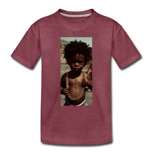 Toddler Premium T-Shirt Lord Of The Drip - Toddler Premium T-Shirt - Neter Gold - heather burgundy / Youth 2T - NTRGLD
