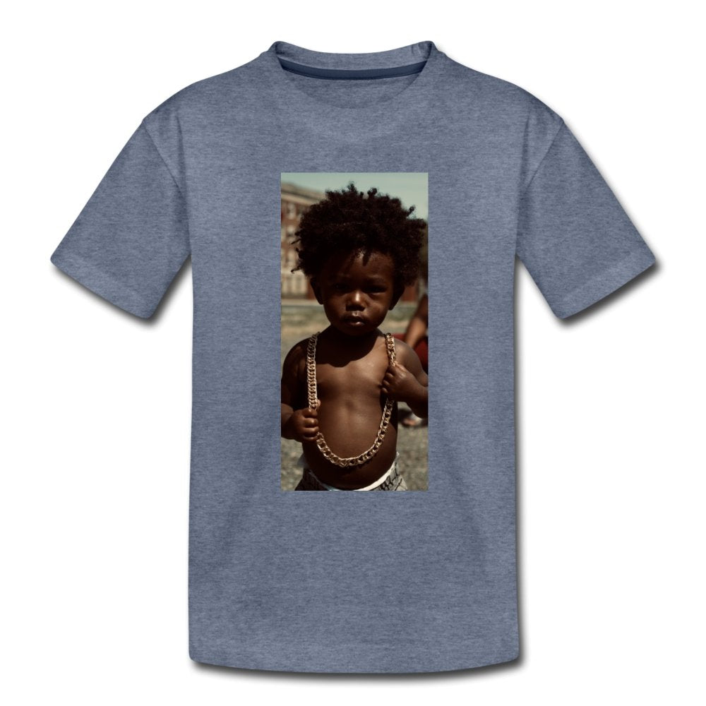 Toddler Premium T-Shirt Lord Of The Drip - Toddler Premium T-Shirt - Neter Gold - heather blue / Youth 2T - NTRGLD