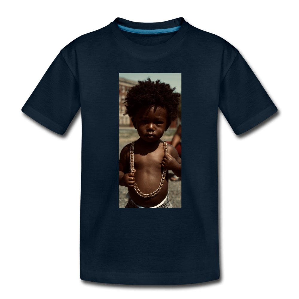 Toddler Premium T-Shirt Lord Of The Drip - Toddler Premium T-Shirt - Neter Gold - deep navy / Youth 2T - NTRGLD