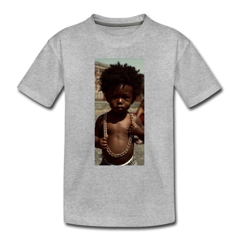 Toddler Premium T-Shirt Lord Of The Drip - Toddler Premium T-Shirt - Neter Gold - heather gray / Youth 2T - NTRGLD