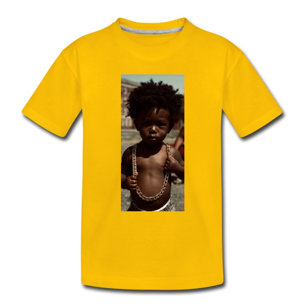 Toddler Premium T-Shirt Lord Of The Drip - Toddler Premium T-Shirt - Neter Gold - sun yellow / Youth 2T - NTRGLD