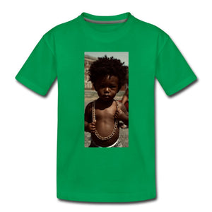 Toddler Premium T-Shirt Lord Of The Drip - Toddler Premium T-Shirt - Neter Gold - kelly green / Youth 2T - NTRGLD