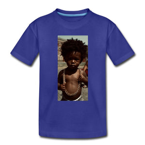 Toddler Premium T-Shirt Lord Of The Drip - Toddler Premium T-Shirt - Neter Gold - royal blue / Youth 2T - NTRGLD