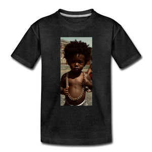 Toddler Premium T-Shirt Lord Of The Drip - Toddler Premium T-Shirt - Neter Gold - charcoal gray / Youth 2T - NTRGLD