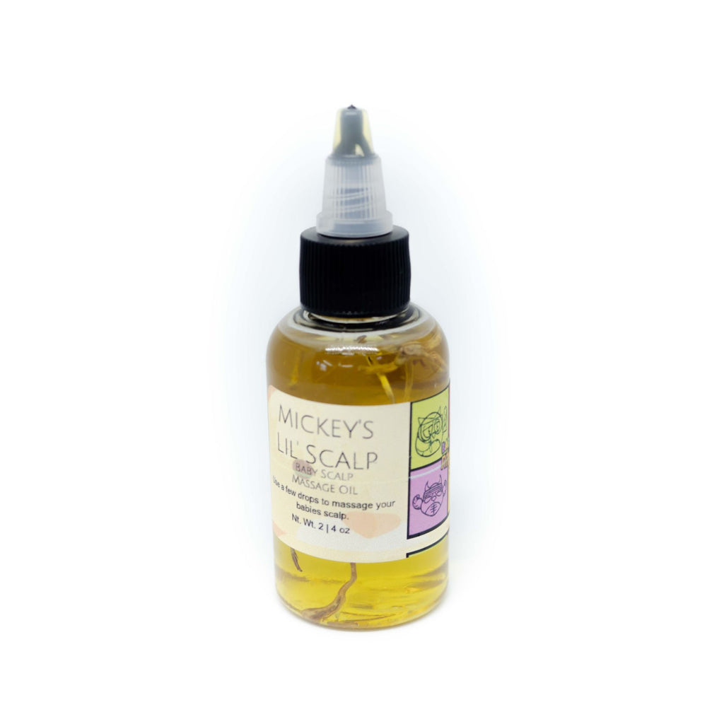 Mickey's Lil' Scalp - Baby Scalp Massage Oil - Neter Gold - NTRGLD