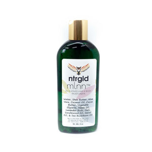 mlnn™ - in shower skin & hair moisturizer - Neter Gold - NTRGLD