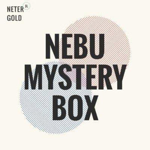 NEBU MYSTERY BOX - Monthly Subscription Box - Neter Gold