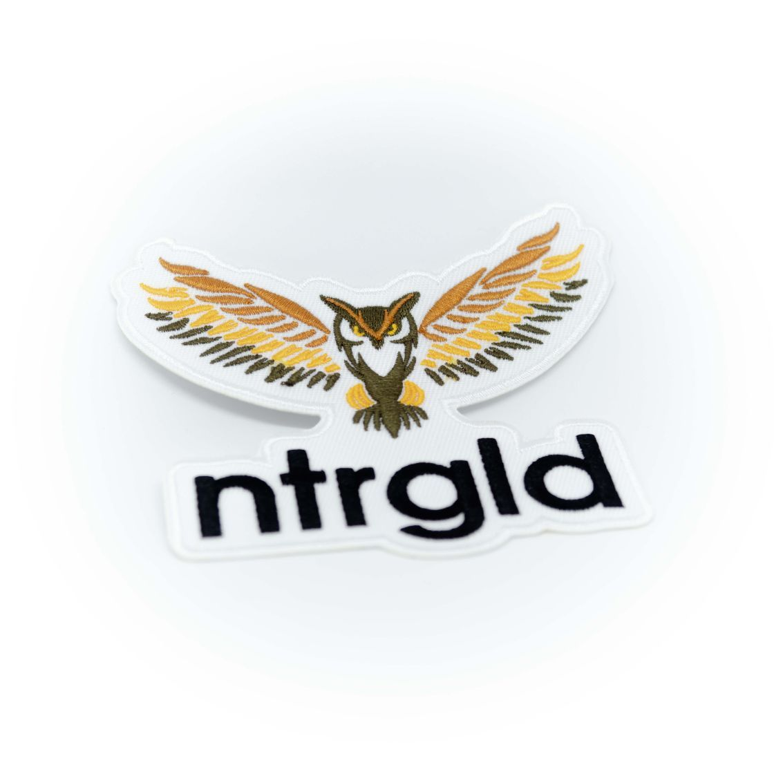 Neter Gold Brand Patches - Neter Gold NTRGLD Great Horned Owl - 4 * 3.5 in