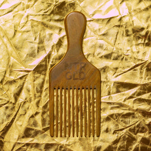 Perfectly Imperfect - Afro Power Pick Comb - Neter Gold