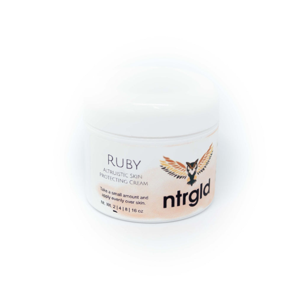 Ruby - Skin Protecting Cream - Neter Gold - NTRGLD - NETER GOLD - All natural body care products designed to increase your natural godly glow. - hair growth - eczema - dry skin