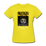 Women's T-Shirt God King Boss Mick By: Greg Morton Jr - Women's T-Shirt - Neter Gold yellow / S