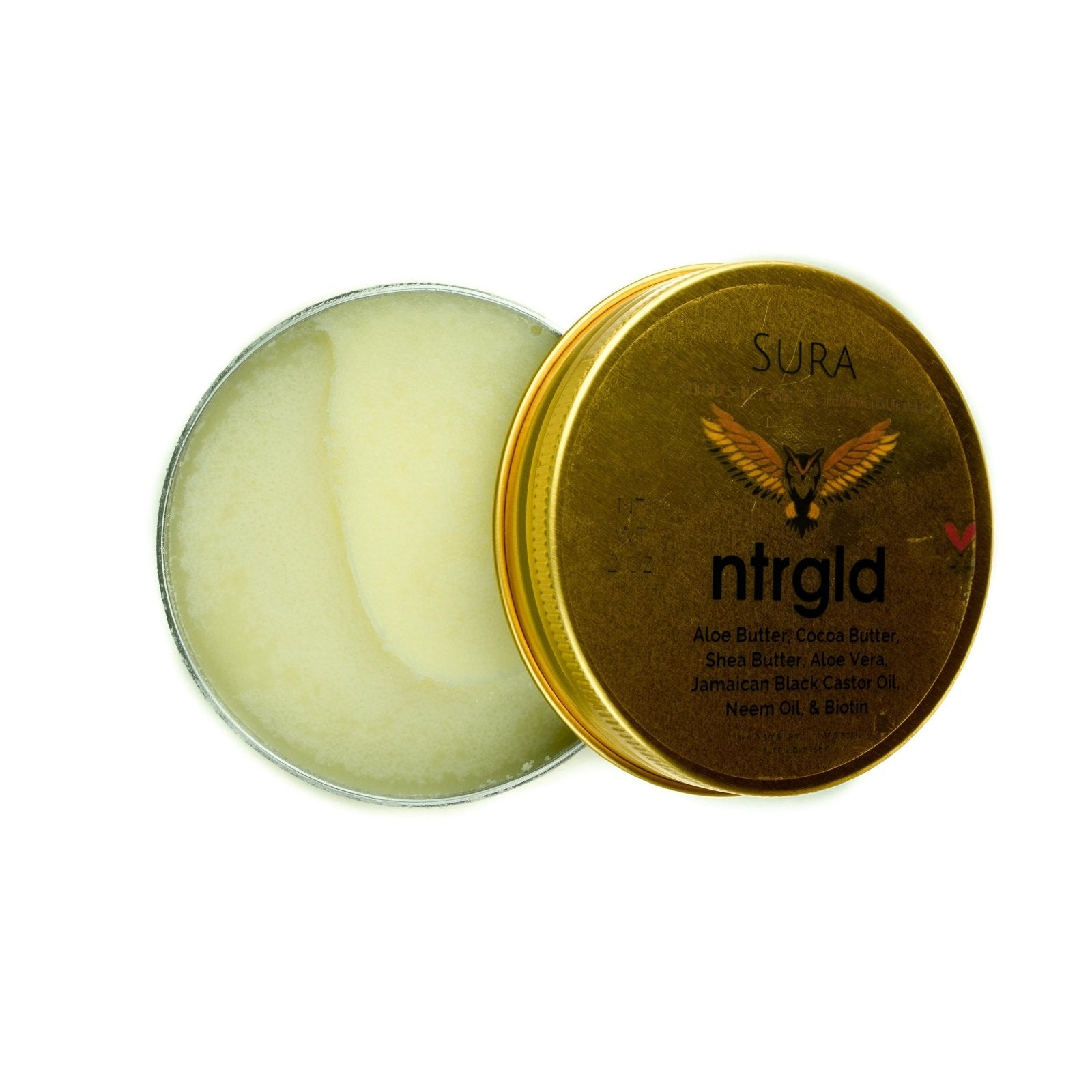 Sura - Hair Softening Butter - Neter Gold - NTRGLD - NETER GOLD - All natural body care products designed to increase your natural godly glow. - hair growth - eczema - dry skin