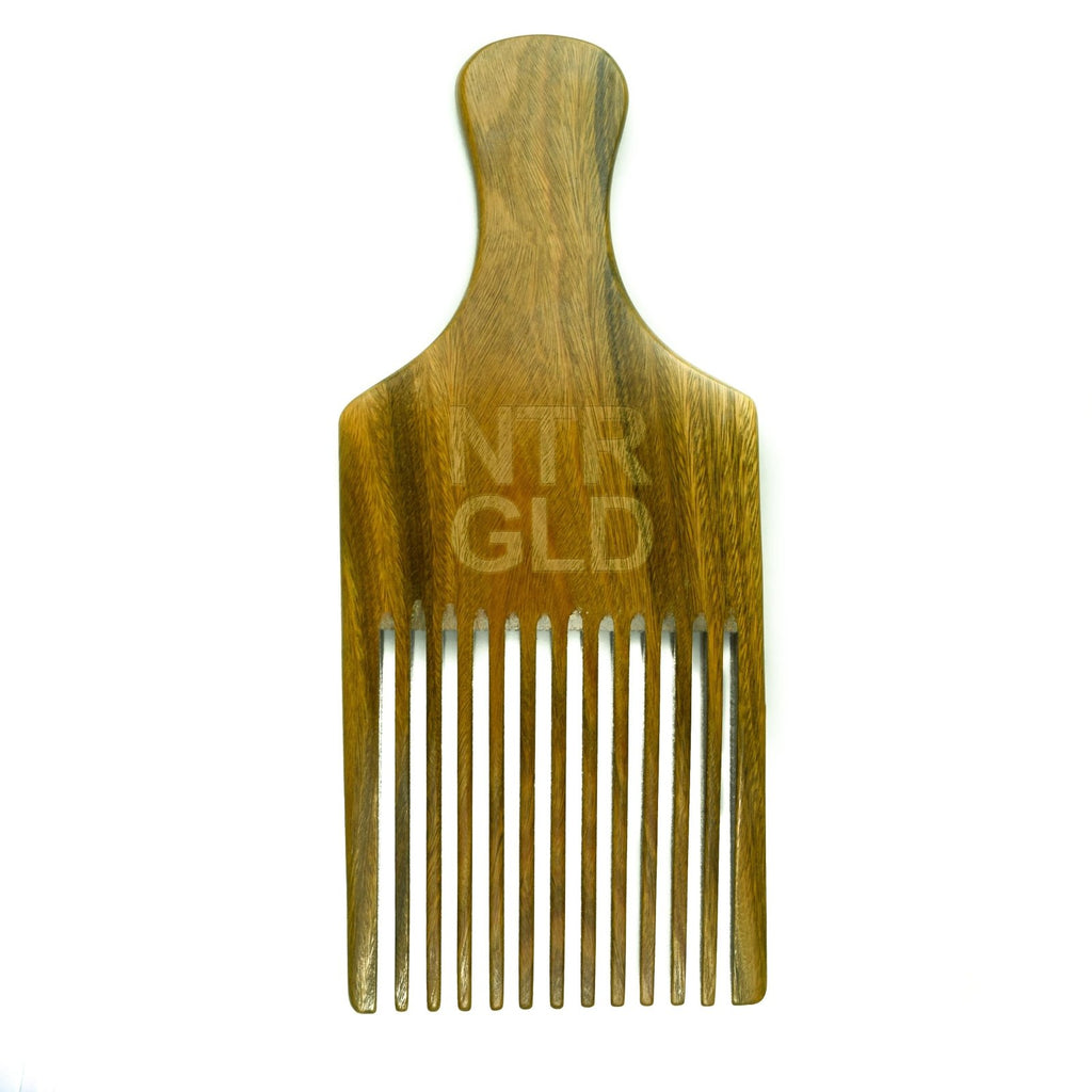 The Really Big Afro Power Pick Comb - Neter Gold - NTRGLD