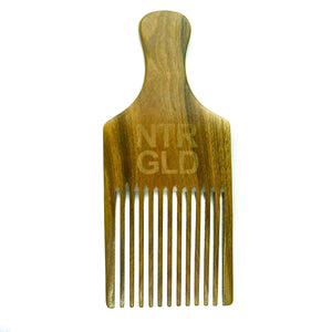 The Really Big Afro Power Pick Comb - Neter Gold