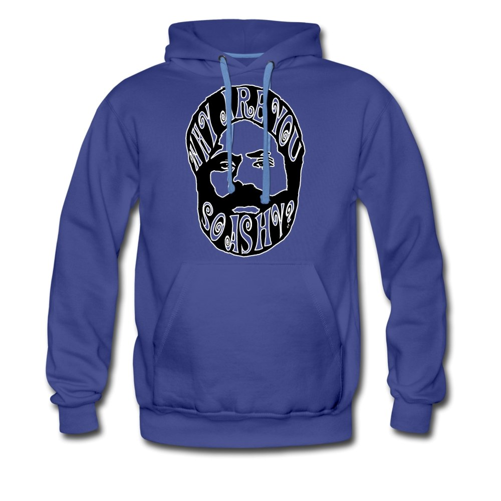 Men's Premium Hoodie | Spreadshirt 20 Why Are You So Ashy? - Men's Premium Hoodie - Neter Gold - royalblue / S - NTRGLD
