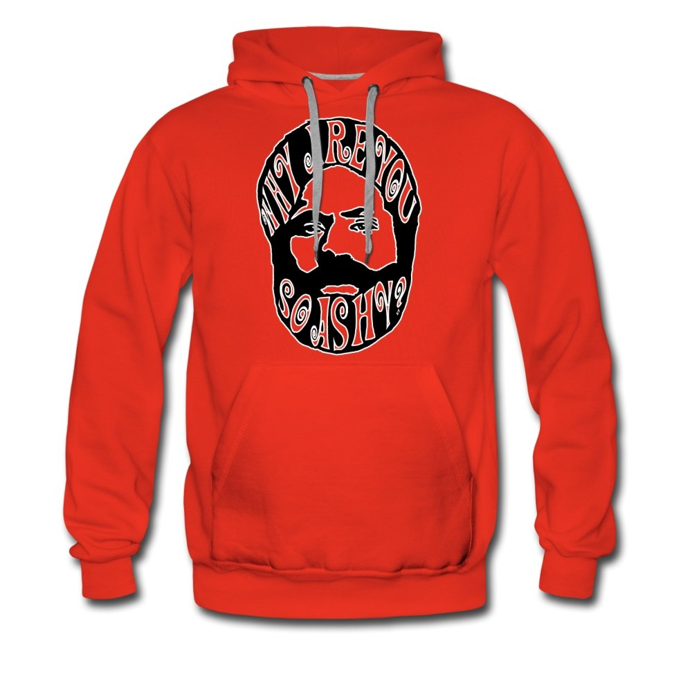 Men's Premium Hoodie | Spreadshirt 20 Why Are You So Ashy? - Men's Premium Hoodie - Neter Gold red / S