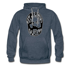 Men's Premium Hoodie | Spreadshirt 20 Why Are You So Ashy? - Men's Premium Hoodie - Neter Gold heather denim / S