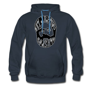 Men's Premium Hoodie | Spreadshirt 20 Why Are You So Ashy? - Men's Premium Hoodie - Neter Gold - navy / S - NTRGLD