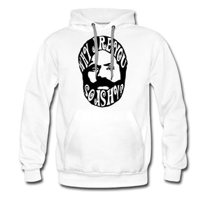 Men's Premium Hoodie | Spreadshirt 20 Why Are You So Ashy? - Men's Premium Hoodie - Neter Gold - white / S - NTRGLD