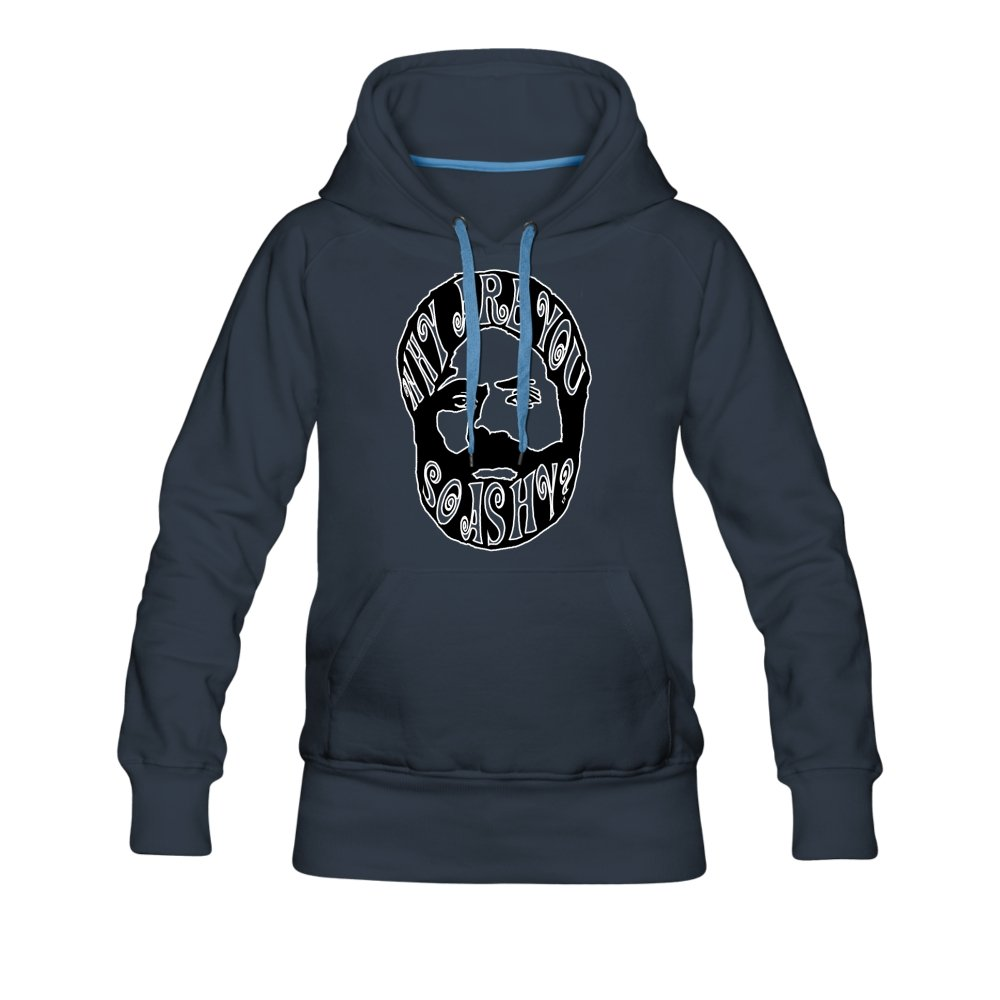 Women's Premium Hoodie | Spreadshirt 444 Why Are You So Ashy? - Women's Premium Hoodie - Neter Gold - navy / S - NTRGLD