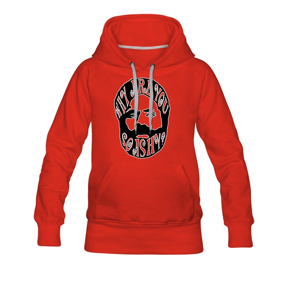 Women's Premium Hoodie | Spreadshirt 444 Why Are You So Ashy? - Women's Premium Hoodie - Neter Gold - red / S - NTRGLD
