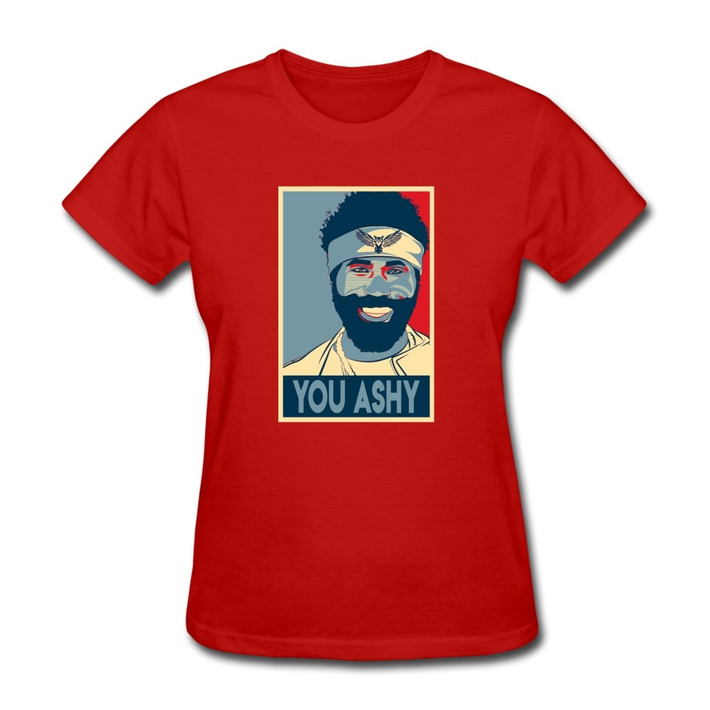 Women's T-Shirt You Ashy Platform - Women's T-Shirt - Neter Gold - red / S - NTRGLD