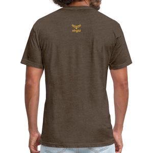 Fitted Cotton/Poly T-Shirt by Next Level You Must Be... Musty - Fitted Cotton/Poly T-Shirt - Neter Gold - NTRGLD