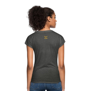 You Must Be... Musty - Women's Tri-Blend V-Neck T-Shirt - Neter Gold