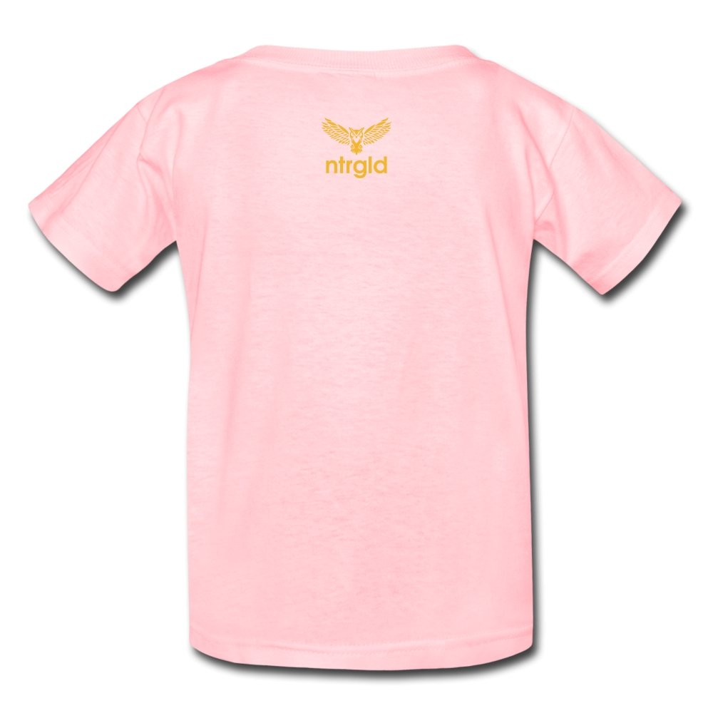 Kids' T-Shirt You Smell Like Outside - Kids' T-Shirt - Neter Gold - pink / S - NTRGLD