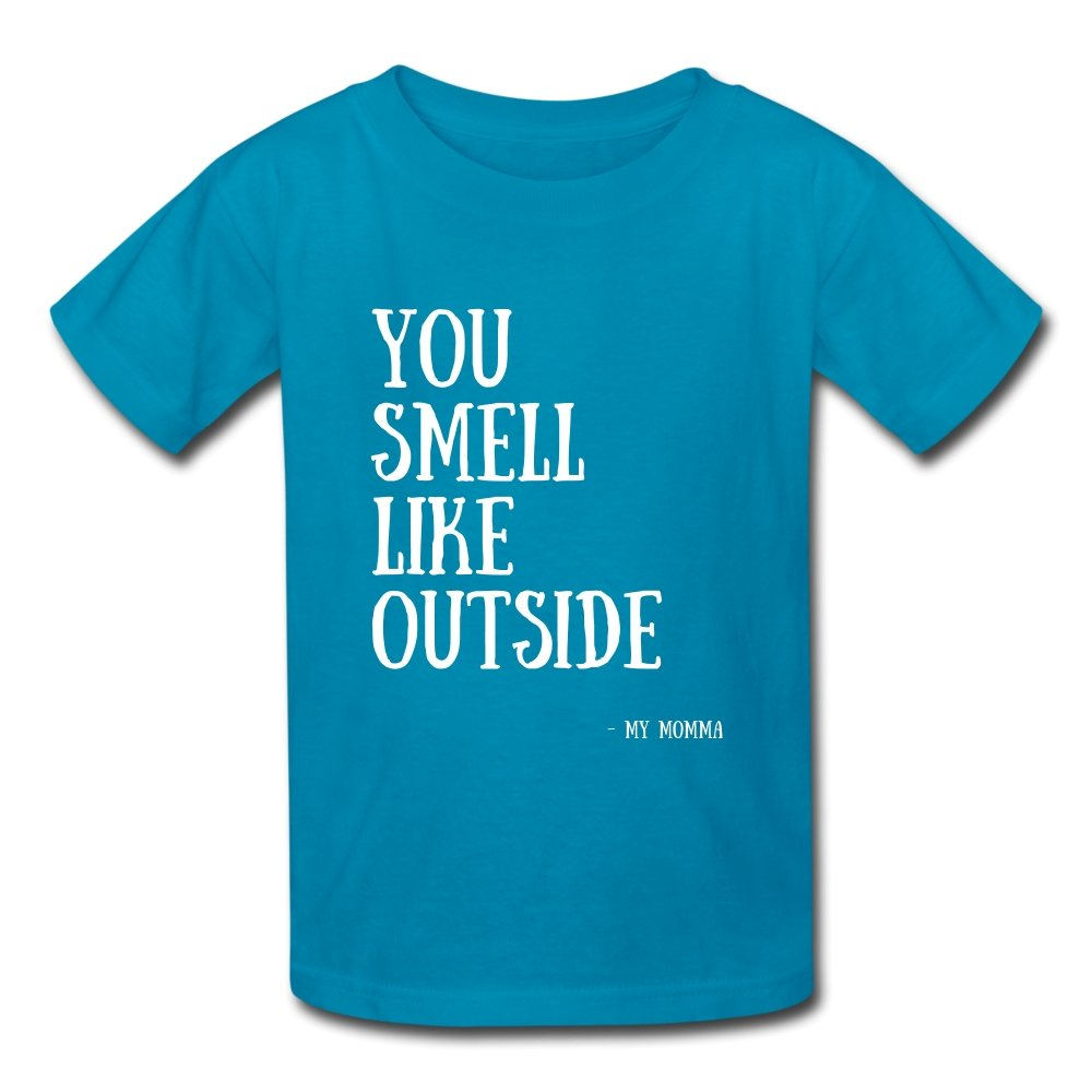 Kids' T-Shirt You Smell Like Outside - Kids' T-Shirt - Neter Gold