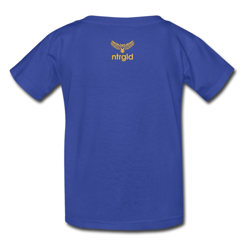 Kids' T-Shirt You Smell Like Outside - Kids' T-Shirt - Neter Gold - royal blue / S - NTRGLD