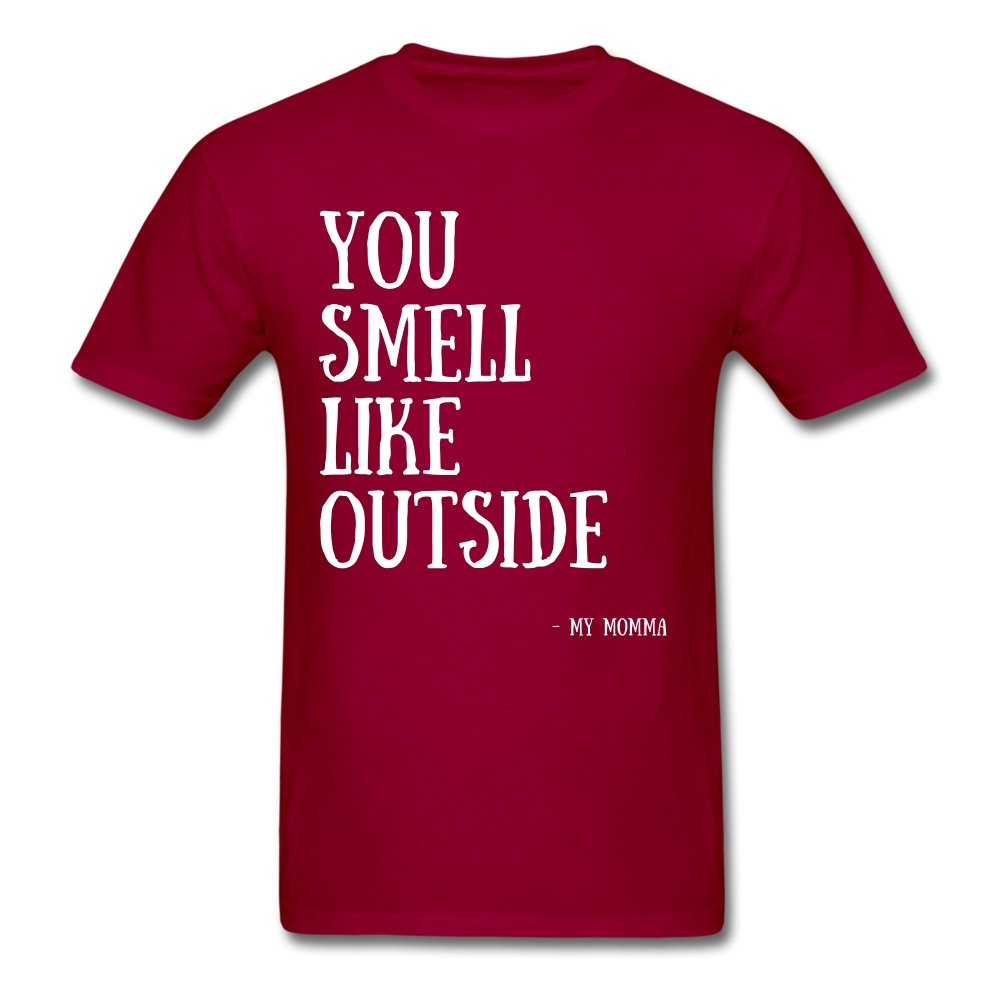 You Smell Like Outside - Men's T-Shirt - Neter Gold