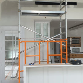 Mobile Scaffold, Painter Unit, Powder Coated