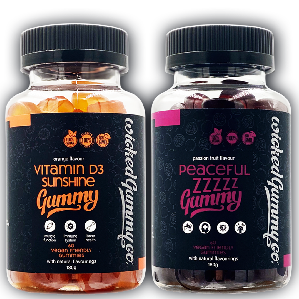 Club Duvet Bundle - Vitamin D and Peaceful Zzzzz Gummies