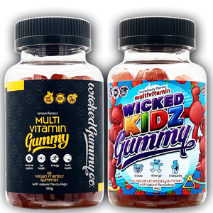 Family Bundle - Adult and Kidz Multivitamin Gummies