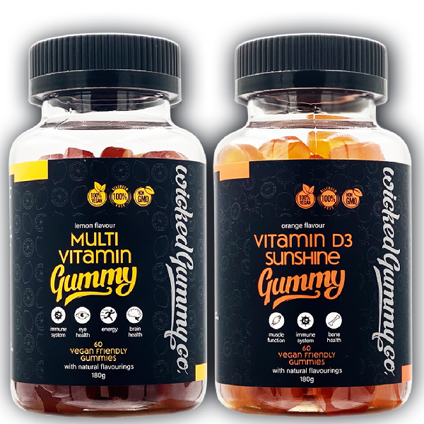 Immunity Bundle - Multivitamin and Vitamin D Gummies