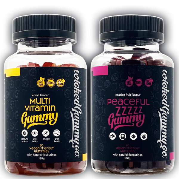 Night & Day Bundle - Multivitamin and Peaceful Zzzzz Gummies