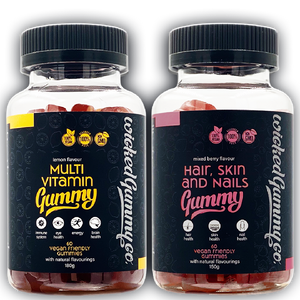 Summer Lovin' Bundle - Multivitamin and Hair, Skin and Nails Gummies
