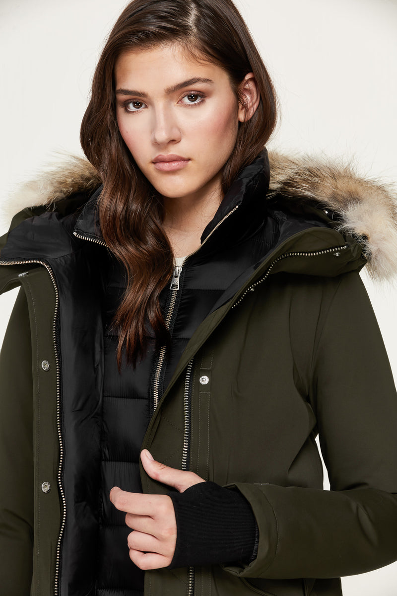 SOIA&KYO PAYTON -  straight-fit classic down coat