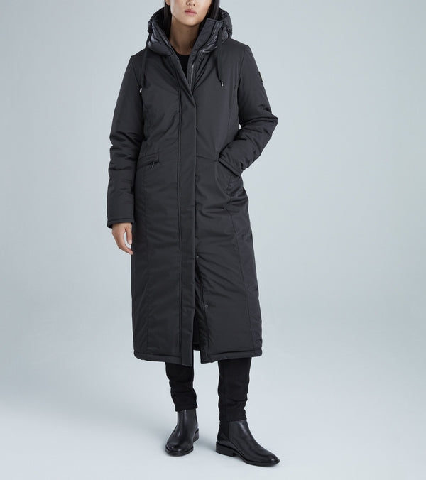 KANUK EVY - Semi-fitted, ankle-length coat - Boutique Bubbles